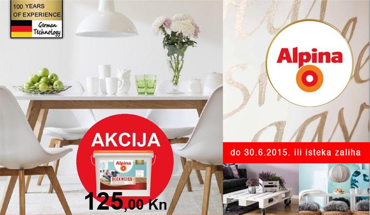 Akcija Alpina Deckweiss u DAi DA trgovini