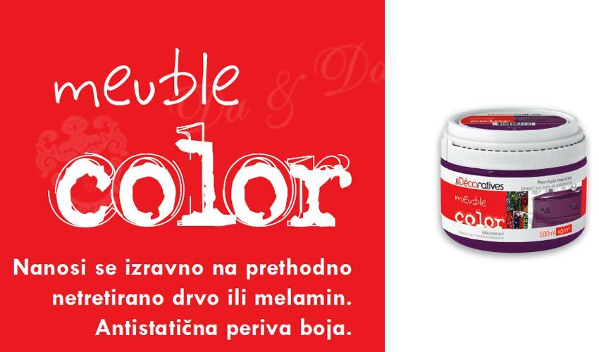 Mueble color - sami obojite namještaj