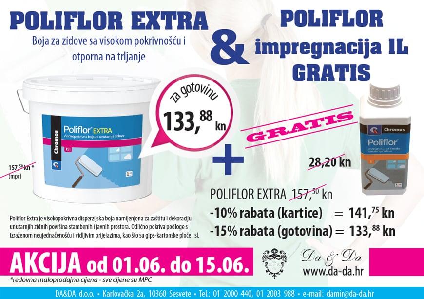 Poliflor extra Akcija