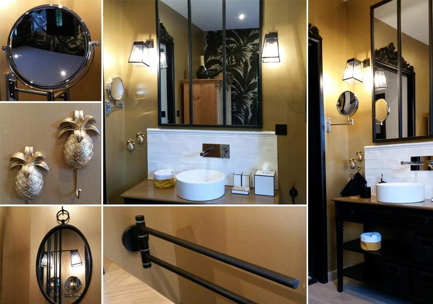 Pur Metal kupaonica efekt zlatnih zidova u kupaonici