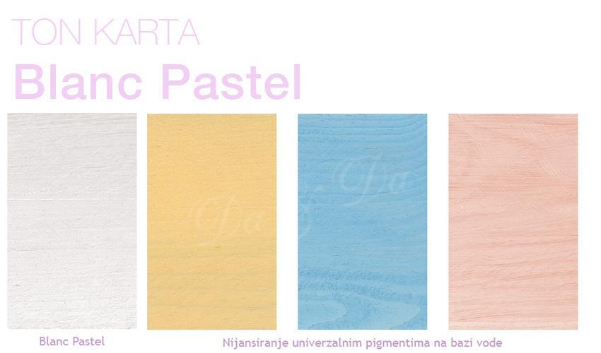 Ton karta Blanc Pastel deko tehnika za drvo